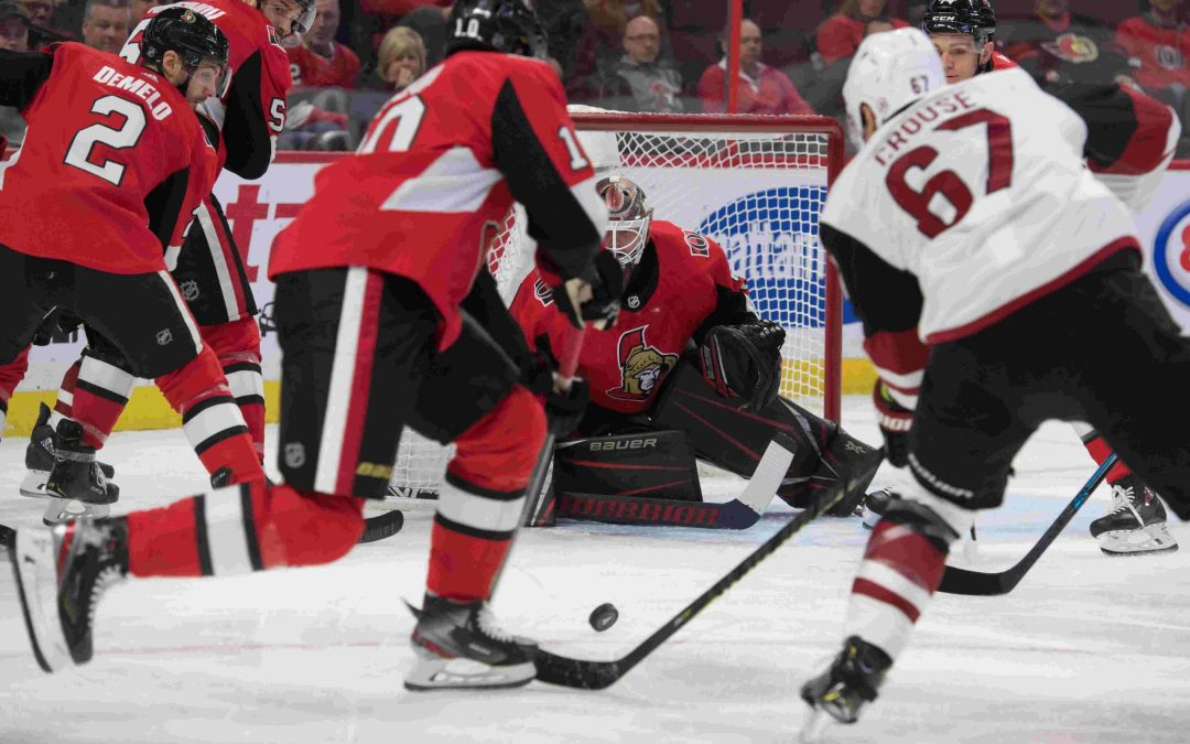 Den's Digest: Lack of urgency evident in Coyotes' loss to Senators