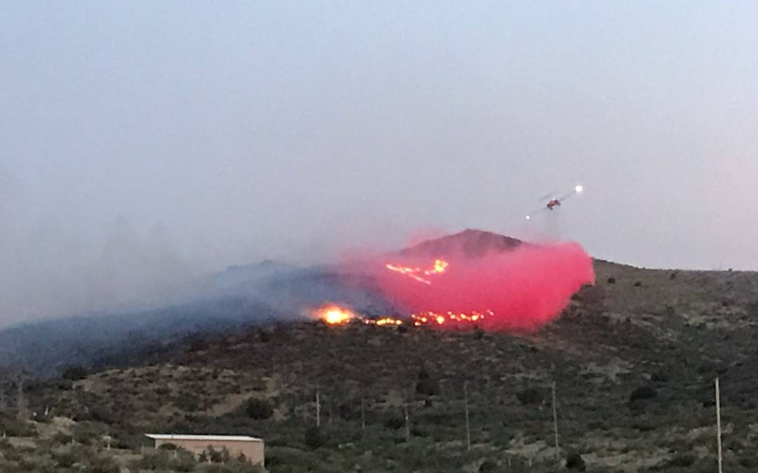 Cordes Fire closes southbound Interstate 17 by Cordes Junction