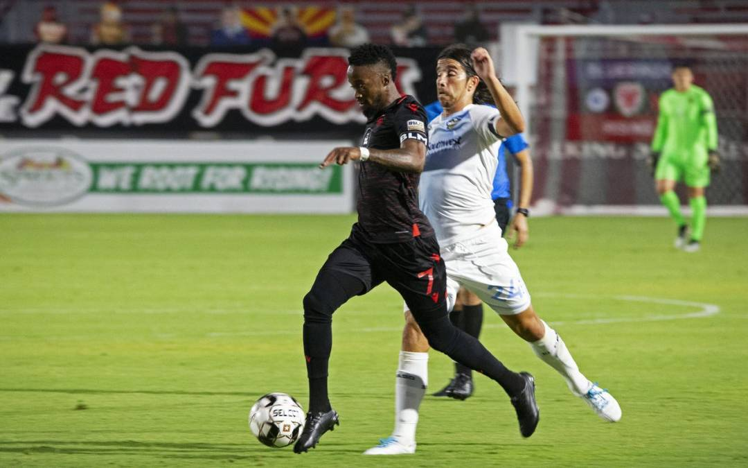 'Maturing' Junior Flemmings continues hot start for Phoenix Rising FC
