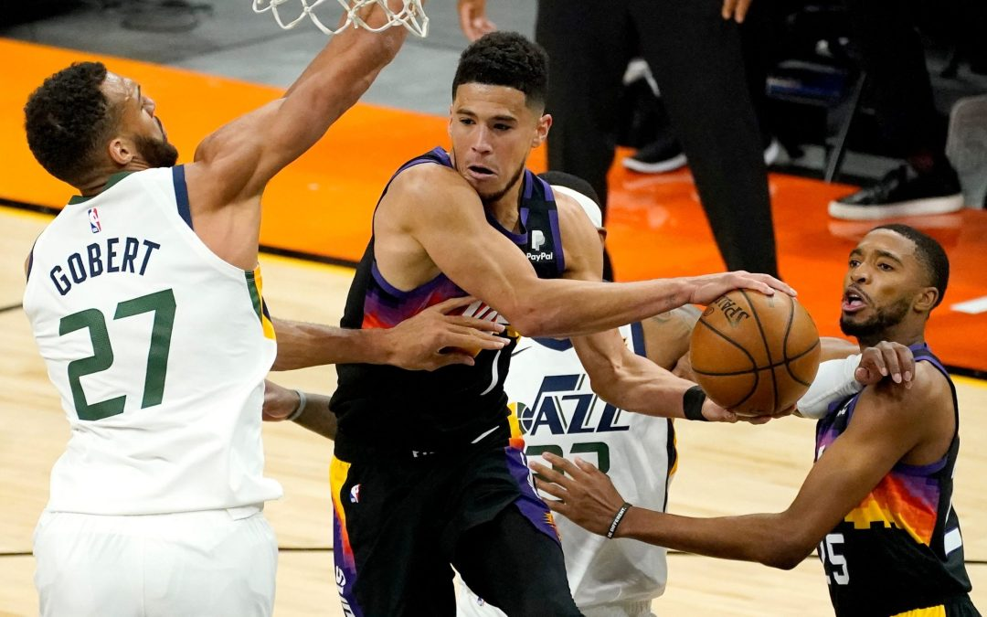 Phoenix Suns top NBA-leading Utah Jazz in overtime