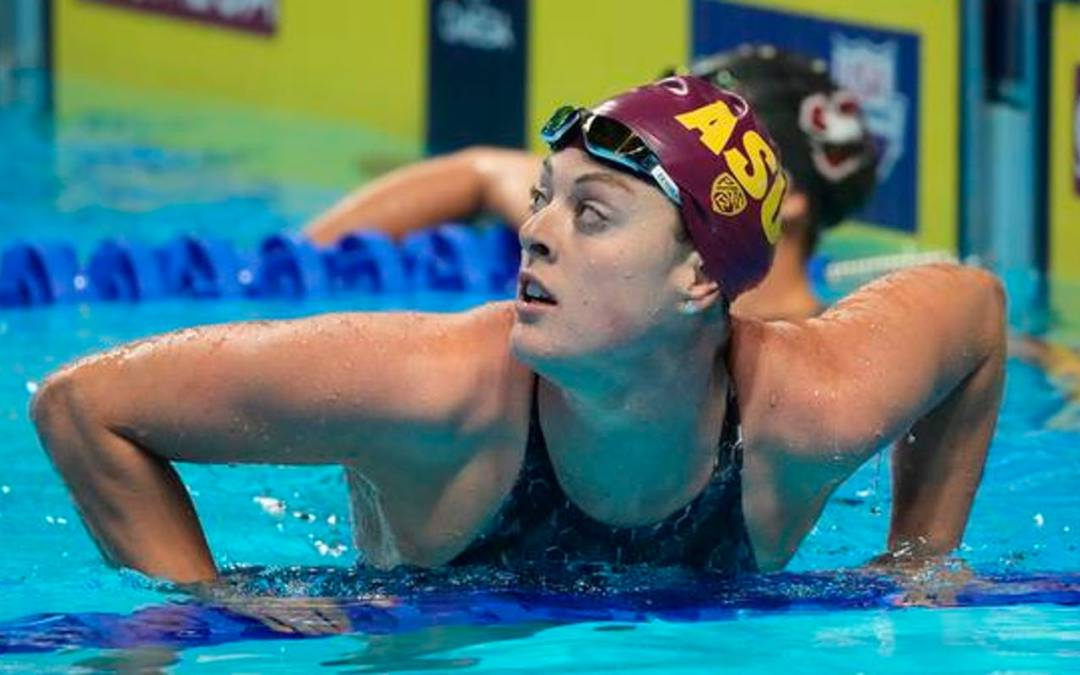 Schmitt adds to Tokyo Olympics options with sixth-place finish in 100 freestyle