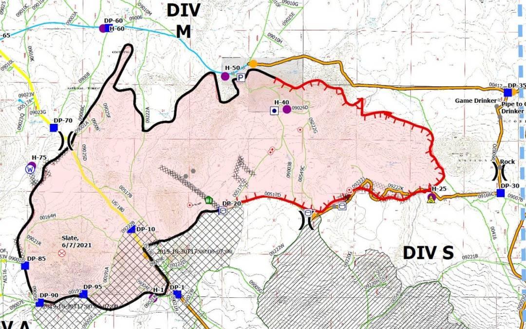 Telegraph, Pinnacle and Slate wildfire updates in Arizona