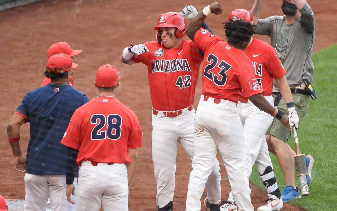 Photos: College World Series; Arizona baseball vs. Vanderbilt