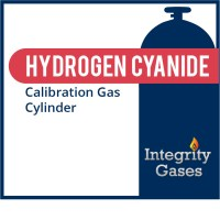 Hydrogen Cyanide (HCN) calibration gas