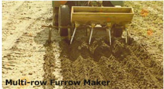 Multi-row Furrow Maker