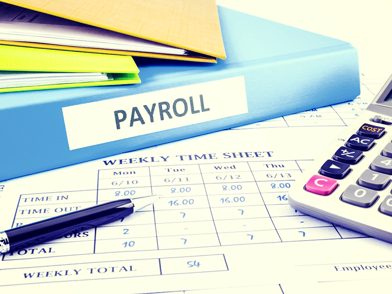 Payroll services are part of our Small Business Solutions