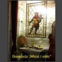 Zabytkowy Witraż XIX w i repliki historycznego szkła
