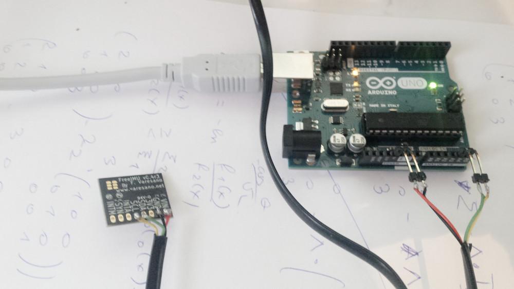 freeIMU Arduino R3