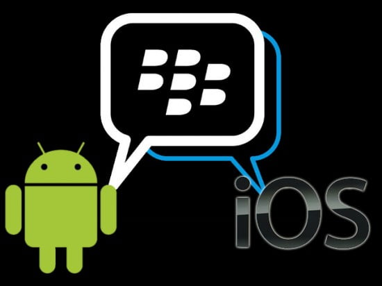 BlackBerry Messenger chega ao iOS e Android