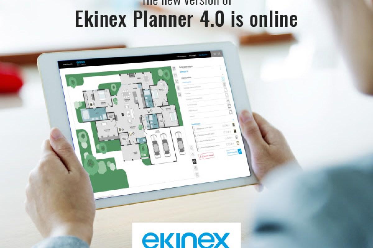 Ekinex Planner 4.0 je online