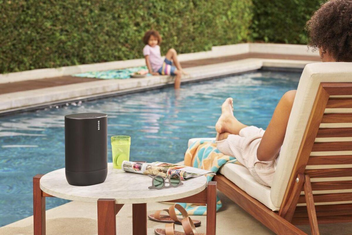 Sonos Move – reproduktor pro poslech kdekoliv – doma, venku i na cestách