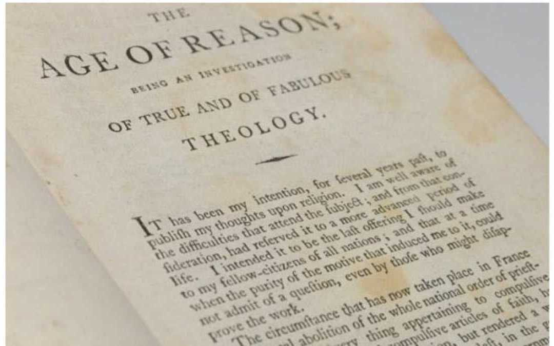'The Second Age of Reason' Balanced with Compassion!