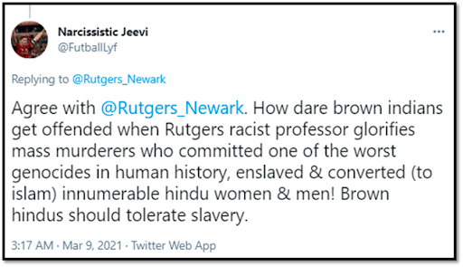 Rutgers, Audrey Truschke and The Encounter With Hindutva Fascism