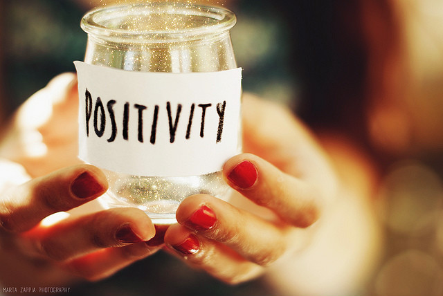 think positive folks