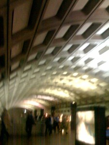 Subway Terminal in Washington DC (They all look the same)