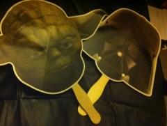 Yoda and Darth Vader Fans