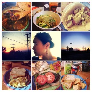 Food and Sunsets - Intellichick Instagram