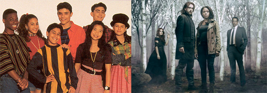 Favorite Shows with Diverse Casts: Ghostwriter (1992-1995), Sleepy Hollow (2013-Present)
