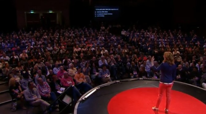 Kelly McGonigal on TED Global 2013