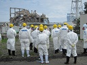 IAEA inspectors in Japan