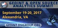 Register for the GEOINT & Open Source Analytics Summit