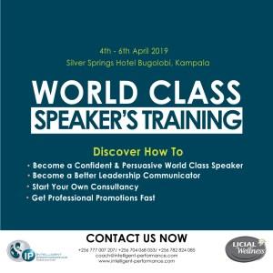Become a Persuasive & Fearless Public Speaker