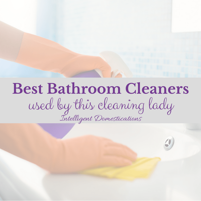 Best Cleaning Product Advice From A Pro Bathroom Cleaners - Bathroom cleaning lady