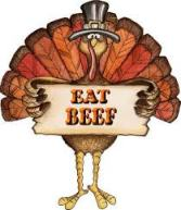 Eat Beef turkey