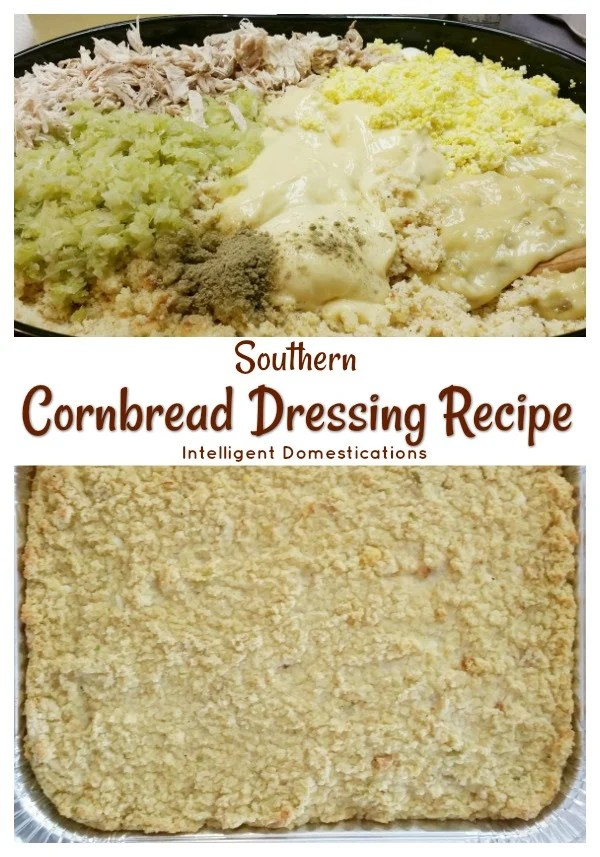 How to make Cornbread Dressing from scratch southern style. Southern Cornbread Dressing recipes. #Thanksgivingfood #CornbreadDressingrecipe