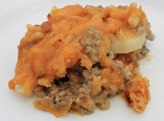 Meat and Potato Casserole.www.intelligentdomestications.com