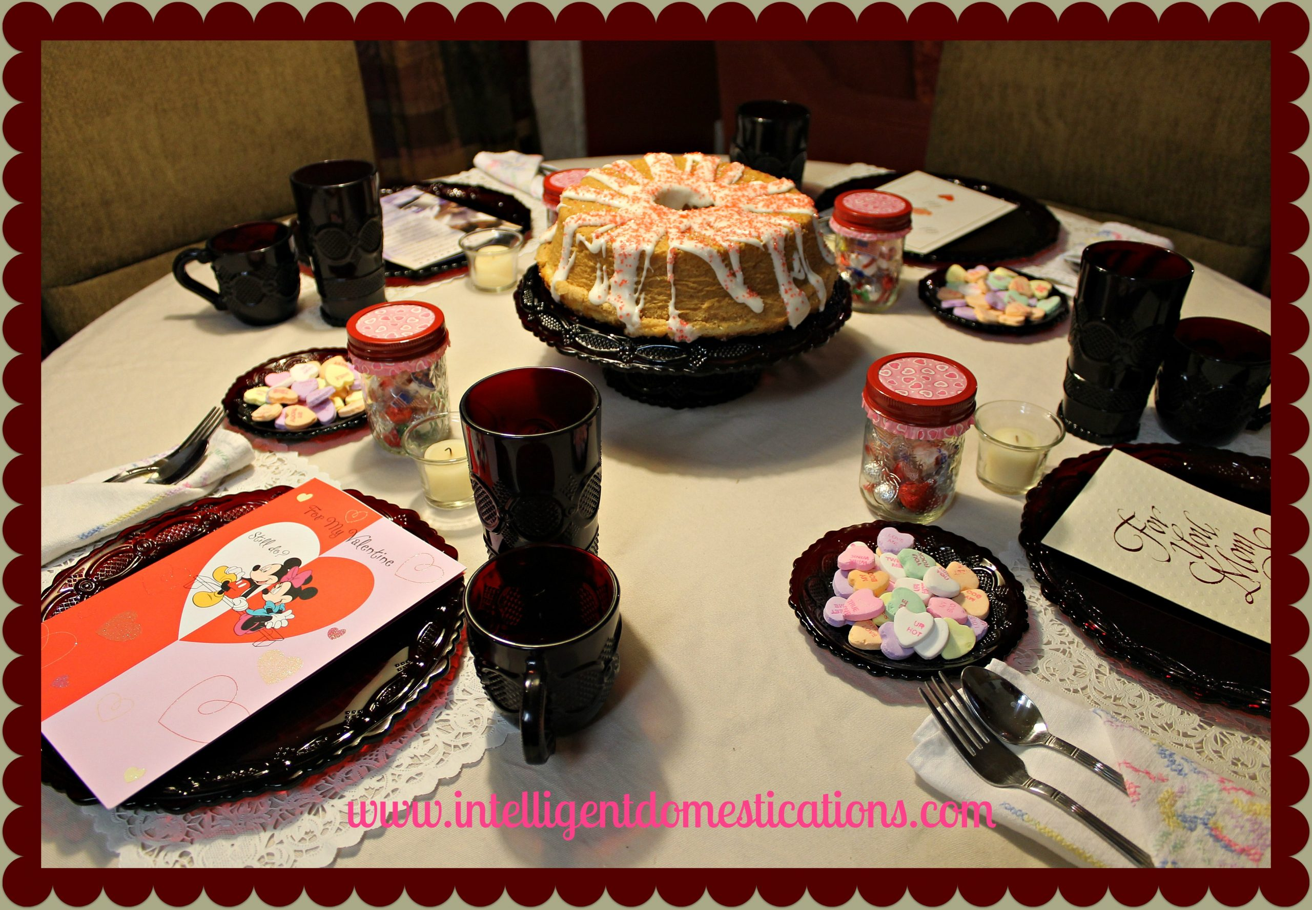 Valentine Tablescape Intelligentdomestications.com