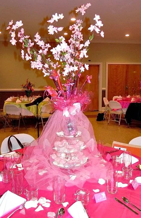 Cherry Blossom tablescape ideas.intelligentdomestications.com