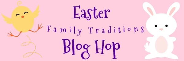 Easter Family Traditions Blog Hop.How to Make the Easter Bunny Cake decorated with tinted coconut. Use two round cakes to make this cute Easter Bunny cake. #easter