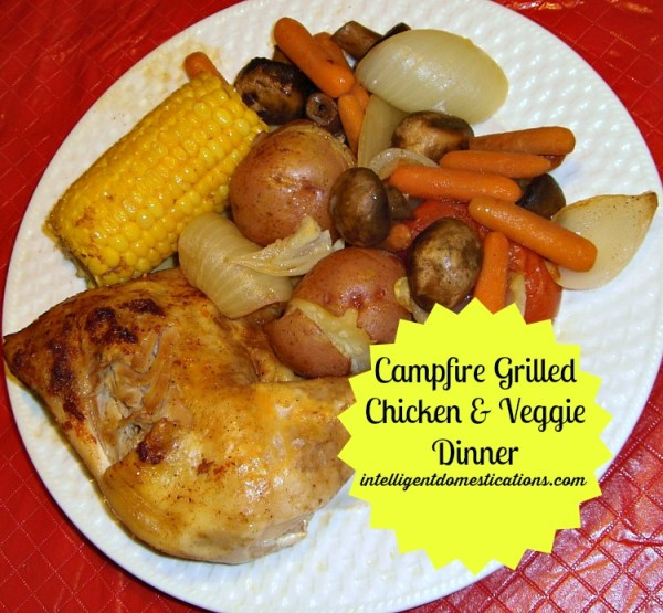 Campfire Grilled Chicken & Veggie Dinner Ready to Serve.intelligentdomestications.com