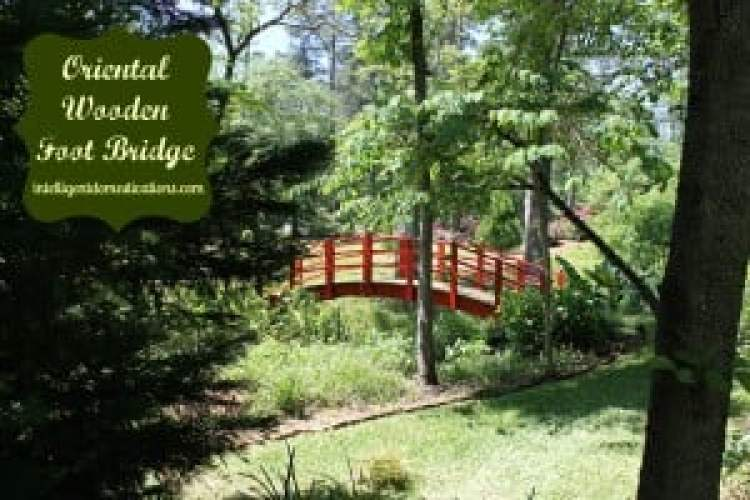 Oriental Wooden Foot Bridge.intelligentdomestications.com