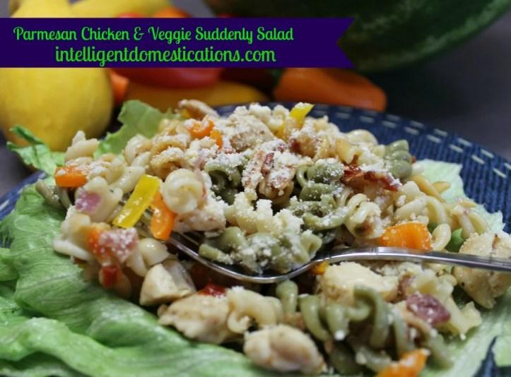 Parmesan-Chicken-&-Veggie-Suddenly-Salad-recipe