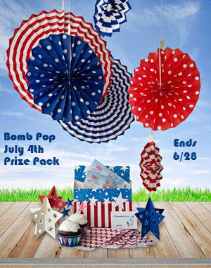 Bomb Pop & Publix July 4th Prize Pack Giveaway Ends 6/28