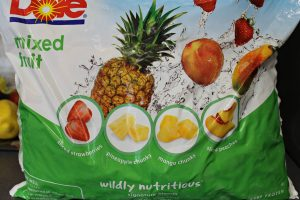 Frozen Tropical fruit for smoothies. intelligentdomestications.com