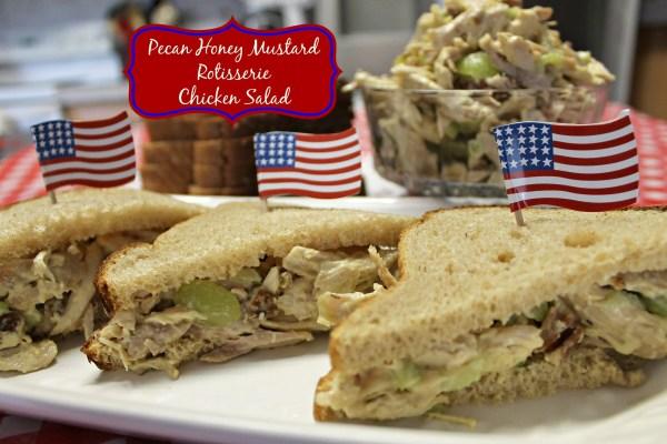 Pecan Honey Mustard Rotisserie Chicken Salad Sandwiches.ingelligentdomestications.com
