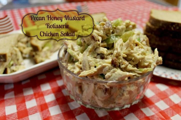 Pecan Honey Mustard Rotisserie Chicken Salad.intelligentdomestications.com