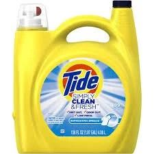 FREE Tide Laundry Detergent (138 oz)