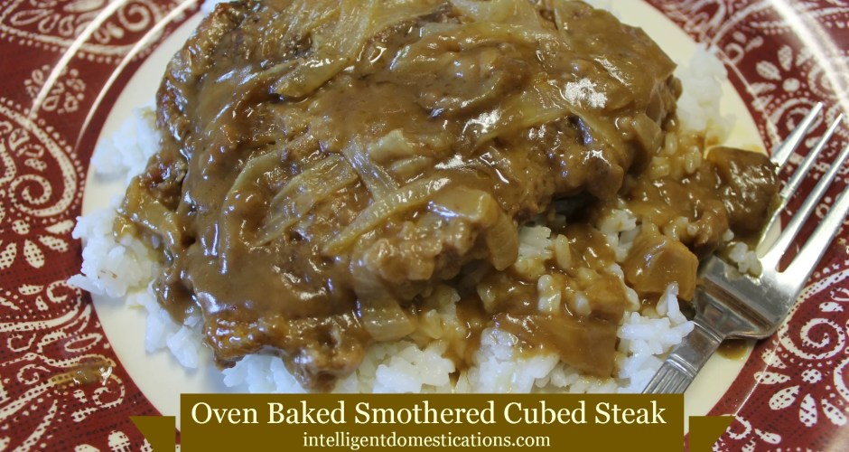 Oven Baked Smothered Cube Steak