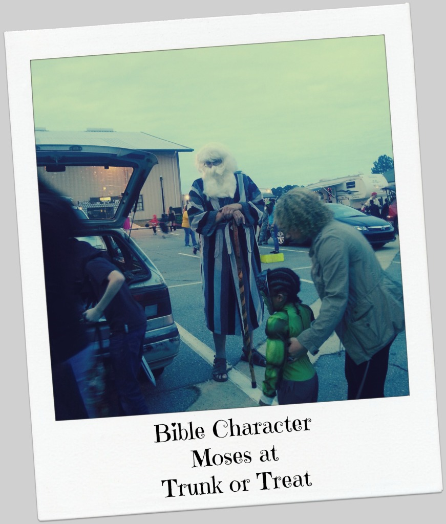 Bible Character Moses at Trunk or Treat.intelligentdomestications.com