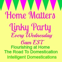 Home Matters Linky Party #12