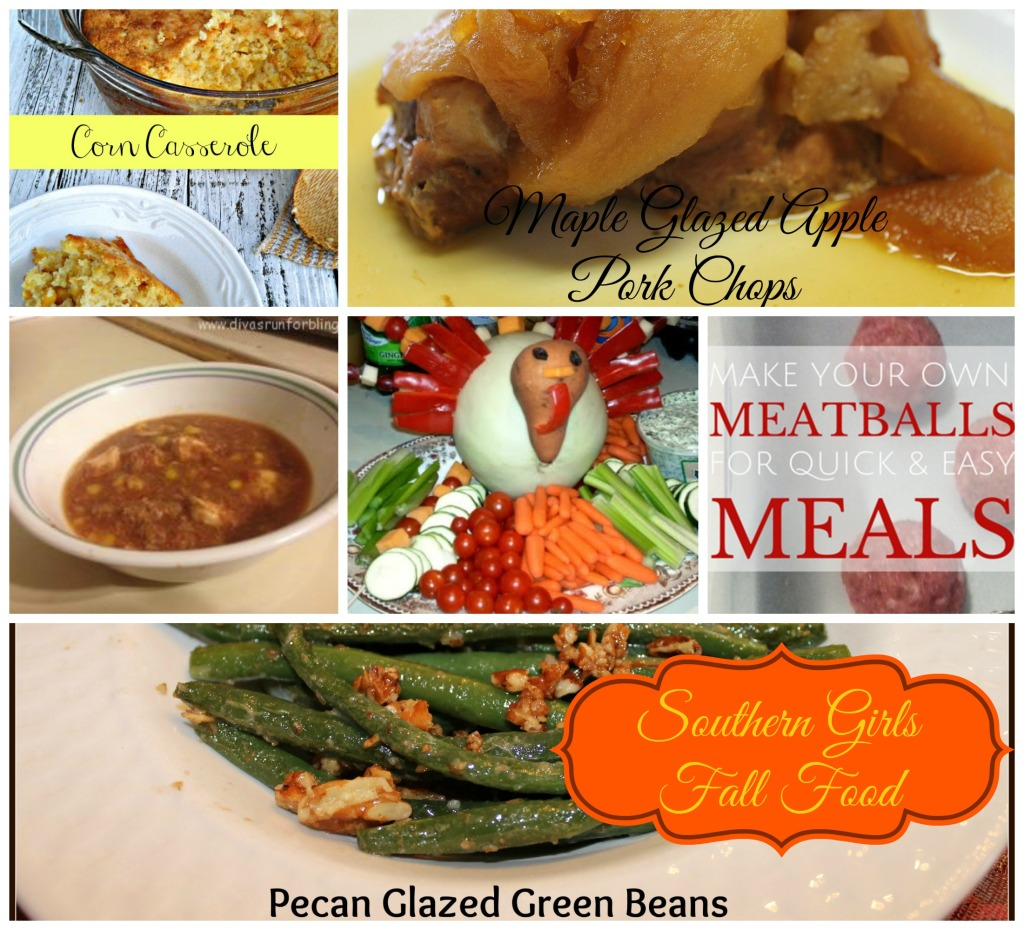 Southern Girls Fall Food. Find all of the recipe links at www.intelligentdomestications.com