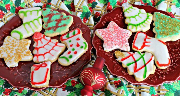 Old Fashioned Tea Cake Christmas Cookies