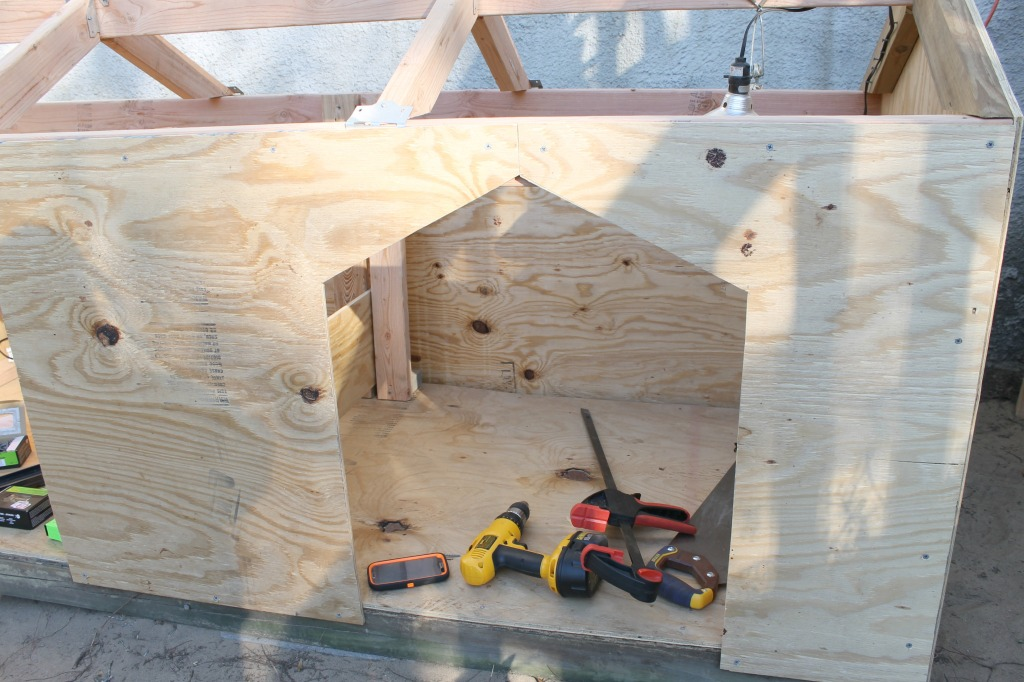 Diy Double Door Dog House Intelligent Domestications
