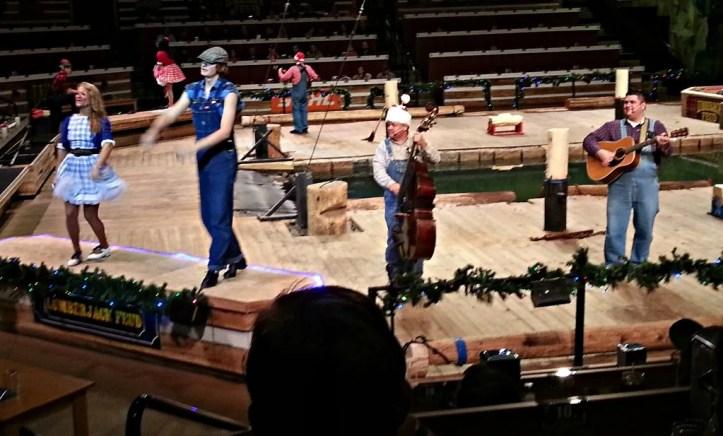 Lumberjack Feud Blue Grass Pre show
