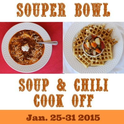 Souper Bowl 2015 Soup & Chili Cook Off Linky Party