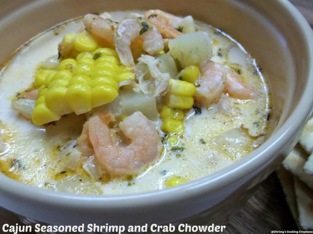 Cajun Shrimp and Crab Chowder pm1